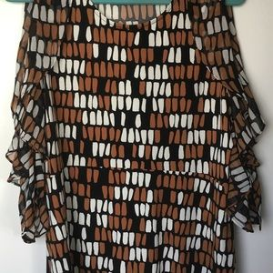 Geometric Blouse